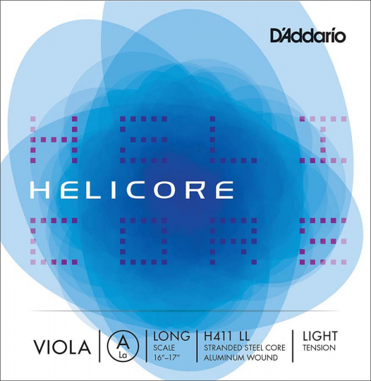 D' Addario Helicore A Light - Viola
