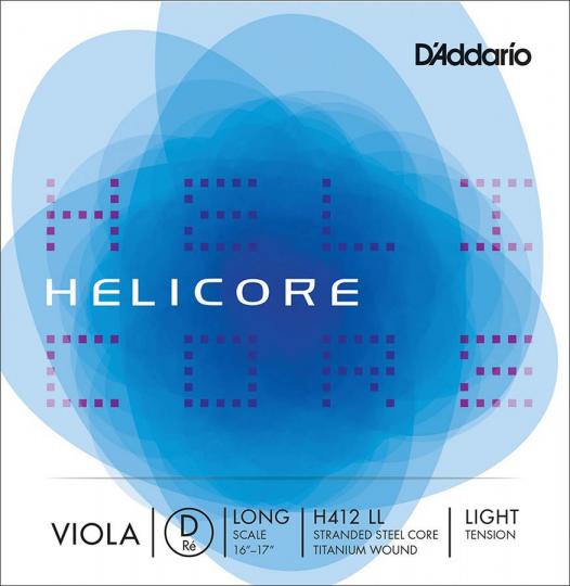 D' Addario Helicore D Light - Viola
