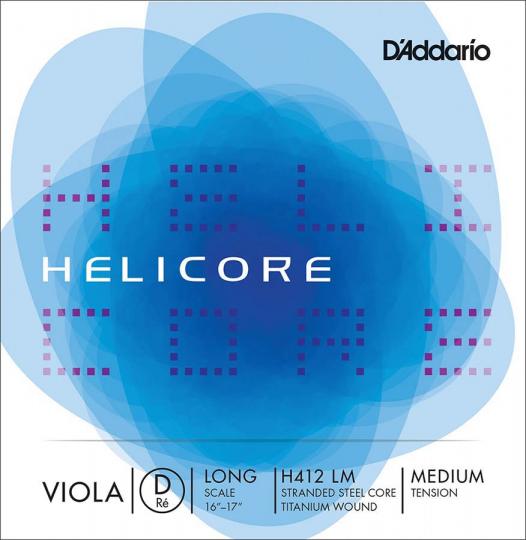 D' Addario Helicore D Medium - Viola