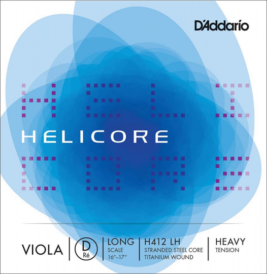 D' Addario Helicore D Strong - Viola