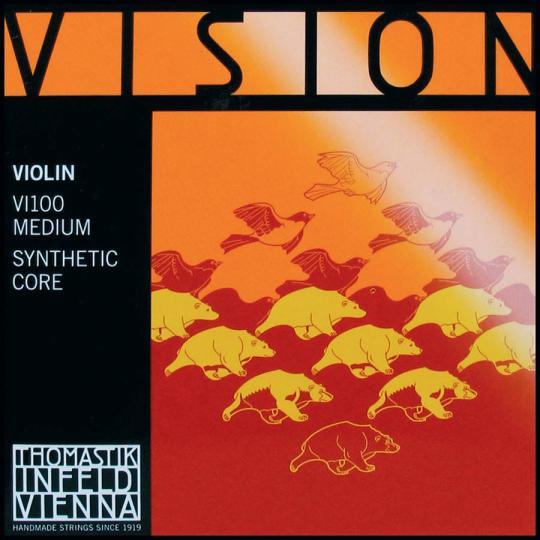 Thomastik Vision Set (E Ball & Loop End) Medium - Violin