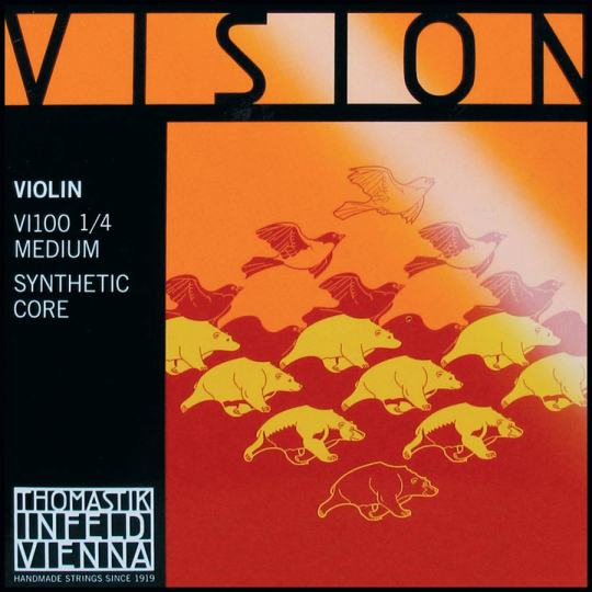 Thomastik Vision Set Medium - 1/4 Violin