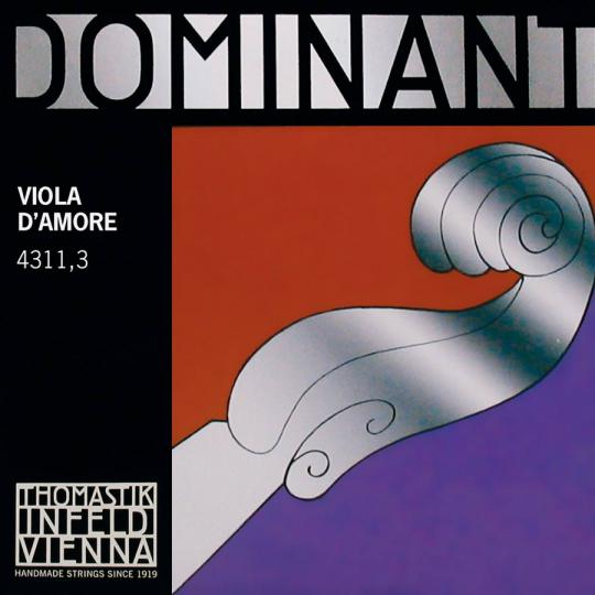 Thomastik Dominant F' sharp - Viola D´Amore