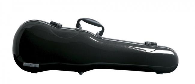 GEWA FORM SHAPED VIOLIN CASES AIR 1.7, black metallic high gloss