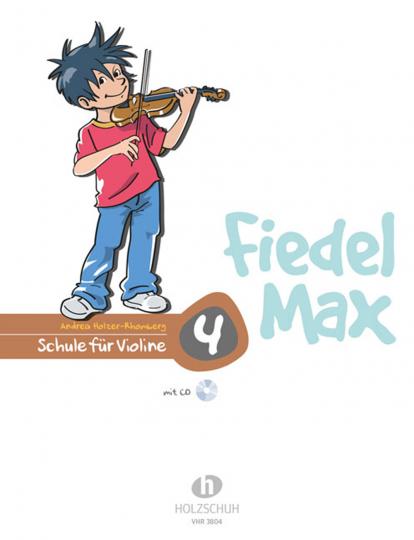 Fiedel-Max für Violine - Schule, m. Audio-CD Bd.4