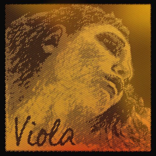 Evah Pirazzi Gold C rope core/tungsten medium - viola
