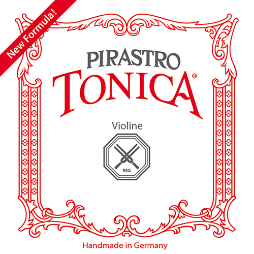 PIRASTRO Tonica Violin E (Ball End)  Silverysteel hard - violin