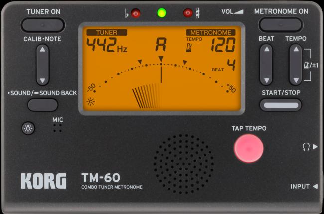 KORG TM-60 Metronome & Tuner
