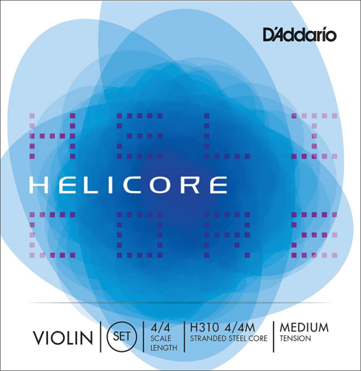 D´ADDARIO  Helicore Set (E Ball End) Medium - Violin