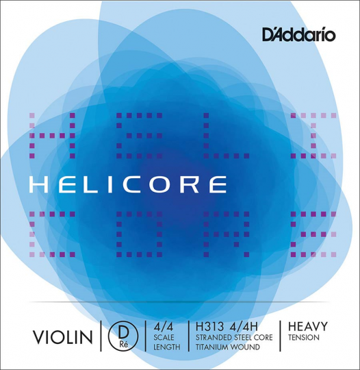 D' Addario Helicore D Strong - Violin