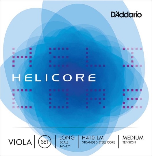 D' Addario Helicore Set Medium - Viola