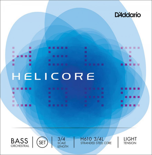 D' Addario Helicore Set Orchestra Light - Double bass