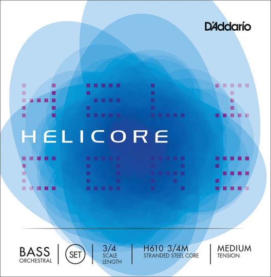 D' Addario Helicore Set Orchestra Medium - Double bass