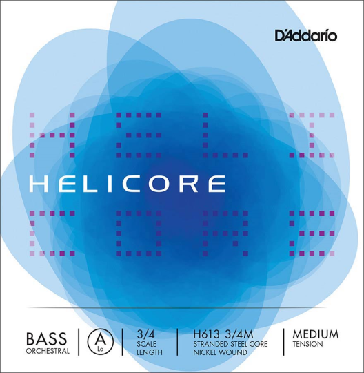 D' Addario Helicore A H - Double bass