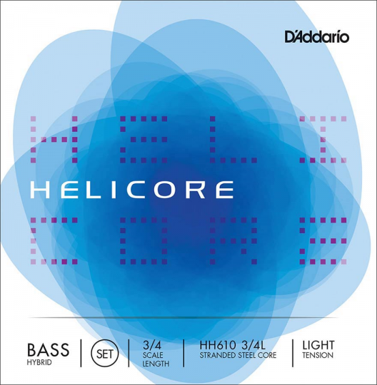 D' Addario Helicore Set HH Light - Double bass