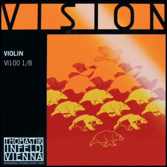 Thomastik Vision Set Medium - 1/8 Violin
