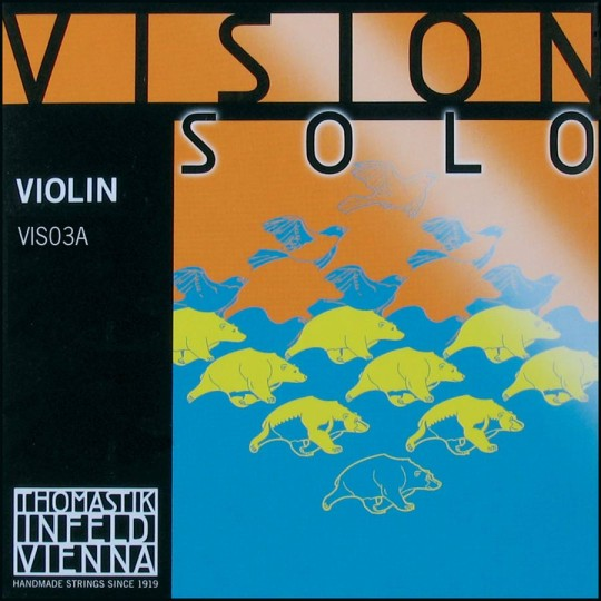 Thomastik Vision Solo Silver D Medium - Violin