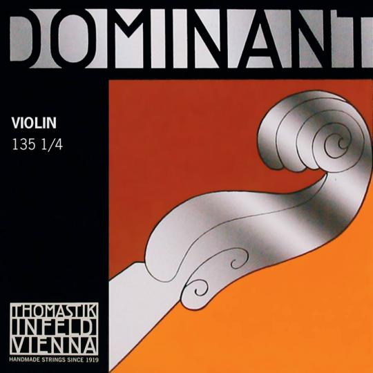 Thomastik Dominant Set (E Ball End) Medium - 1/4 Violin