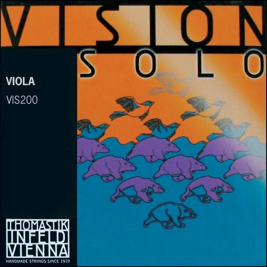 Thomastik Vision Solo Set Medium - Viola