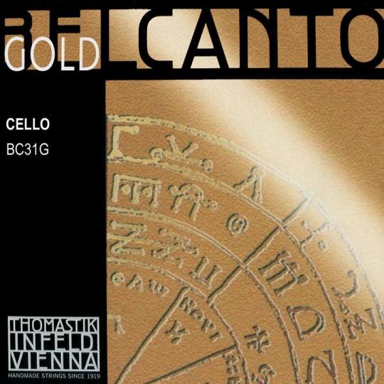 Thomastik Belcanto Gold Set - Cello