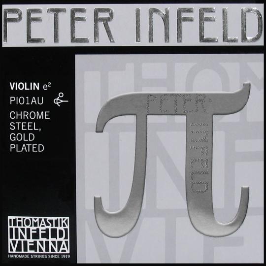Peter Infeld PI E (Ball End), Gold, Medium - Violin