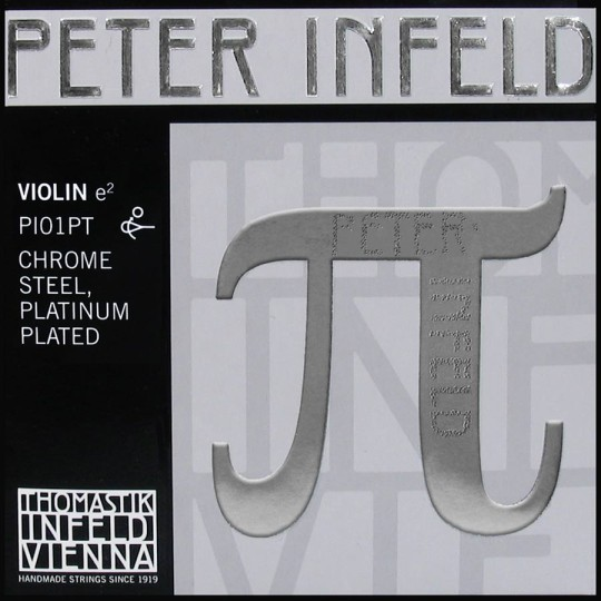 Peter Infeld PI E (Ball End), Platinum, Medium - Violin