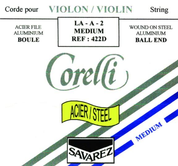 Corelli Steel E (Ball End) - Violin