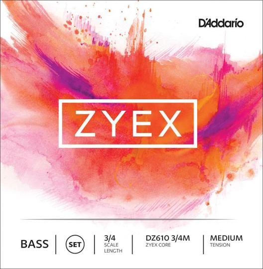 Zyex Set Medium - Double Bass