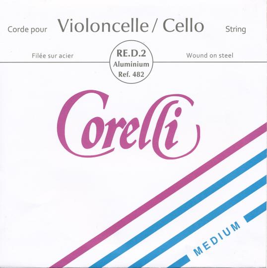 Corelli D Silver Medium - Cello
