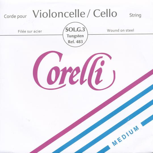 Corelli G Silver/Tungsten Medium - Cello