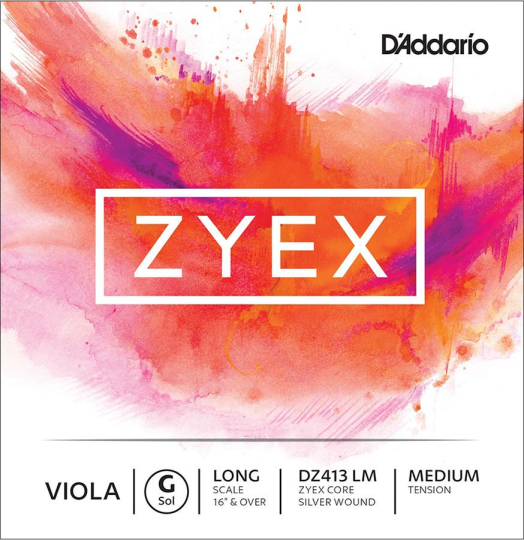 D´ADDARIO Zyex G Medium - Viola