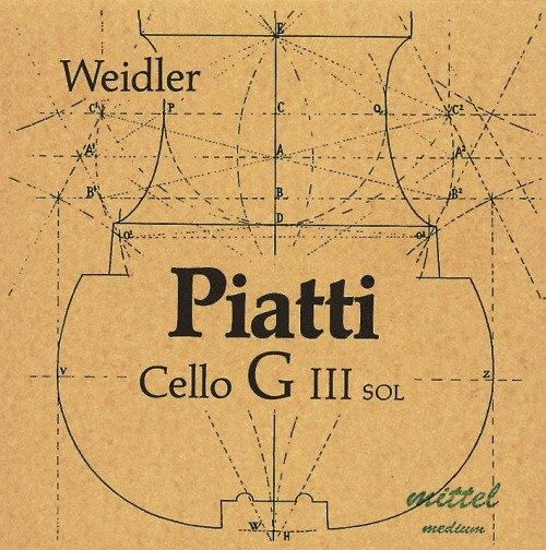 Piatti G - Cello medium