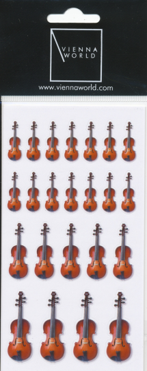 Sticker violin