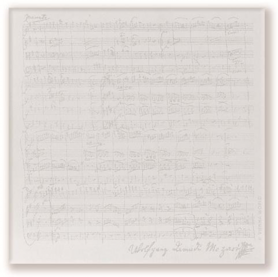 notepad Mozart - 80 sheet