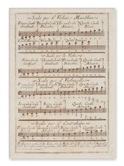 postcard motif Scalo Violino