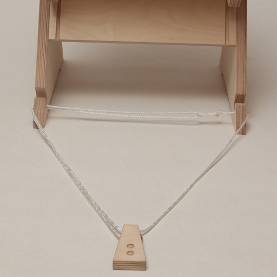 Endpin Stopper for cello chair