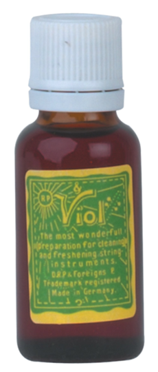 Viol cleaning solution