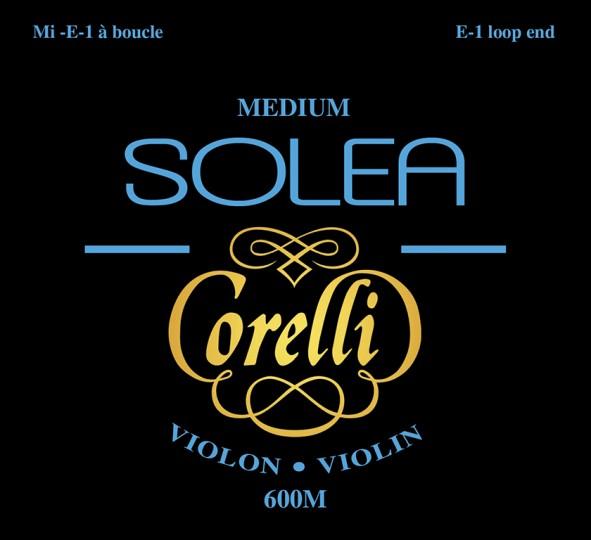 CORELLI SOLEA Violinsaiten SATZ mit E-Schlinge, medium