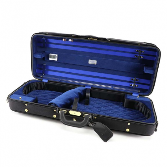 Winter 3030 double case two Violin  black/blue