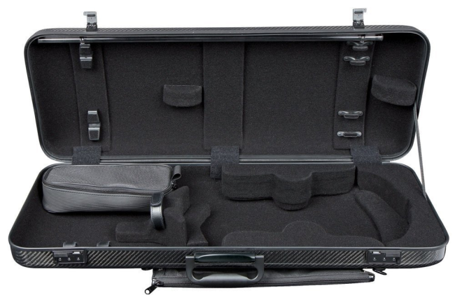 GEWA Idea 2.6 Oblong Viola Case, black/black