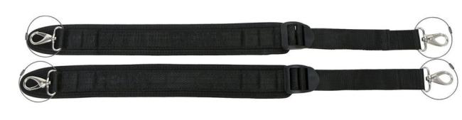 Neoprene shoulder strap for Cello case/cover