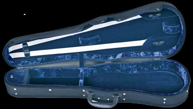 GEWA Concerto Viola Case (body length < 43cm), black/blue