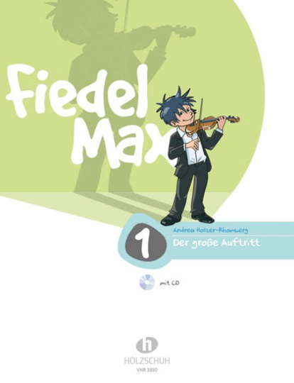 Fiddle-Max, The Great Violin School Volume 1