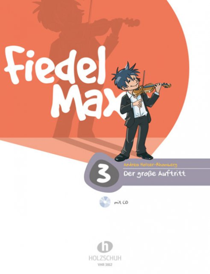 Fiddle-Max, The Great Violin School Volume 3