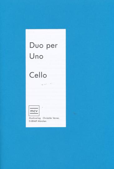 Duo per Uno Cello for Cello and piano