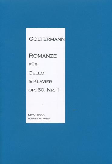 Georg Goltermann - Romance for Cello & Piano