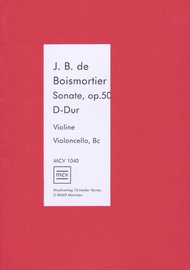 Boismotier - Sonata D major op.50.6