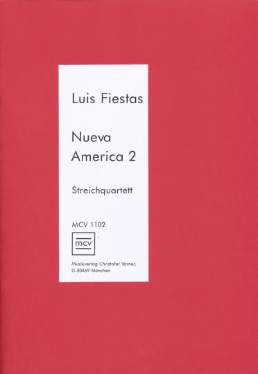 Fiestas - Nueva America Vol 2 string quartet