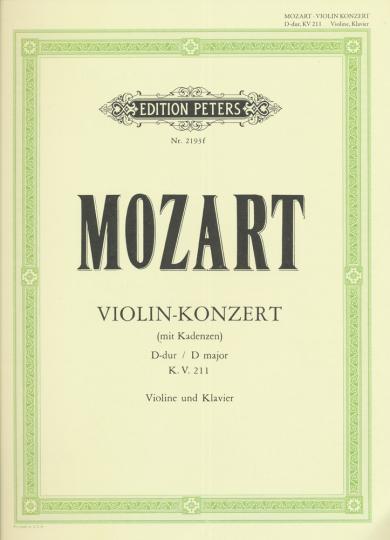 Mozart, Violin-Konzert Nr. 23, D-dur, K.V. 211
