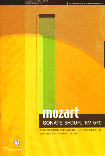 Hilger: W.A. Mozart KV 570